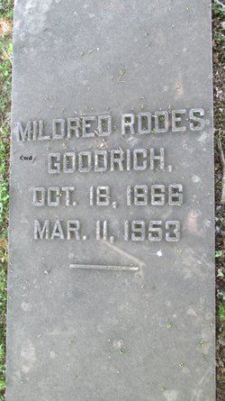 Mildred <i>Rodes</i> Goodrich