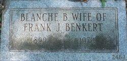 Blanche B <i>Calvin</i> Benkert