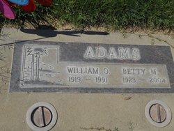 Betty M Adams