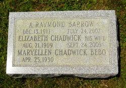 Elizabeth Winward Betty <i>Chadwick</i> Barrow