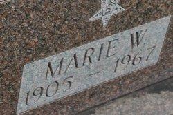 Marie W. <i>Anliker</i> Kerchenfaut