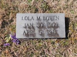 Lola <i>Holt</i> Bowen