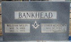 Esther Elizabeth <i>McKeown</i> Bankhead