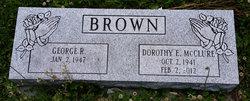Dorothy E. <i>McClure</i> Brown