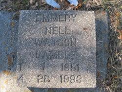 Emmery Nell <i>Watson</i> Gamble