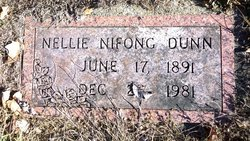 Nellie <i>Nifong</i> Dunn