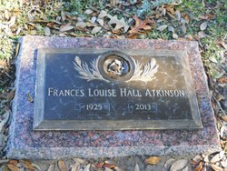 Frances Louise <i>Hall</i> Atkinson