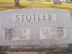 Frances Thelma <i>Beach</i> Stotler