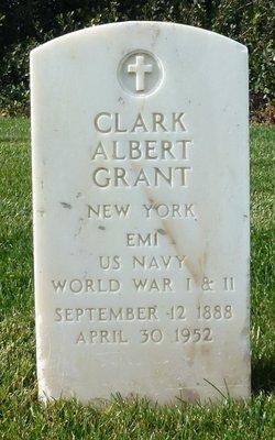 Clark Albert Grant