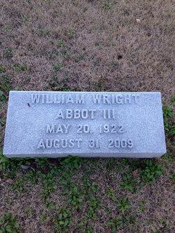 William Wright Abbot, III
