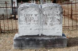 Henry W Byrd