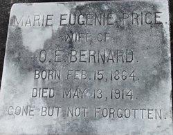 Eugenie Marie <i>Price</i> Bernard