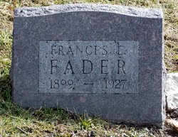 Frances Elizabeth <i>Yarrington</i> Fader