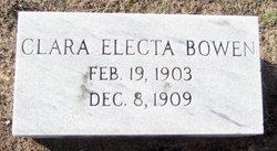 Clara Electa Bowen