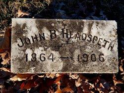 John Branch Branch Headspeth