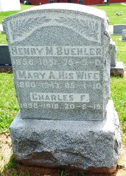 Mary A <i>Gahene</i> Buehler