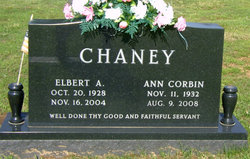 Ann <i>Corbin</i> Chaney