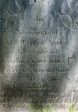 Phebe <i>Chandler</i> Ames