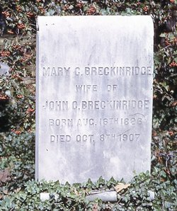 Mary Cyrene <i>Burch</i> Breckinridge