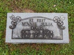 Minnie Julia <i>Jones</i> Davis