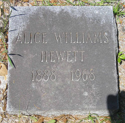 Nancy Alice <i>Lewis</i> Williams