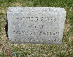 Hattie B <i>Gates</i> Burnham