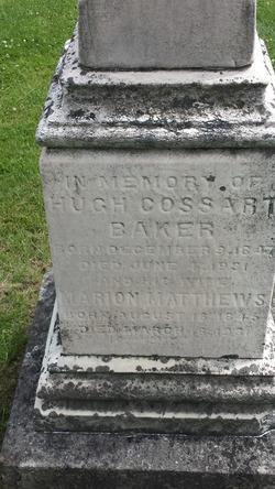 Hugh Cossart Baker