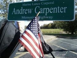 LCpl Andrew Paul Carpenter