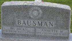 Irl Hicks Bausman