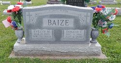 Evelyn M <i>Bledsoe</i> Baize