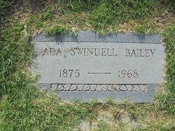 Ada Ellen <i>Swindell</i> Bailey