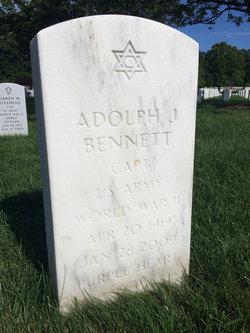 Adolph J Bennett