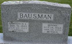 Wilhelmina Minnie <i>Benz</i> Bausman