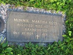 Minnie Martha <i>Frost</i> Ross