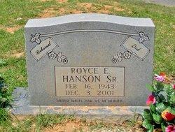 Royce Eugene Hanson, Sr
