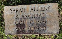 Sarah Alliene Blanchard
