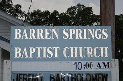 Barren Springs Cemetery