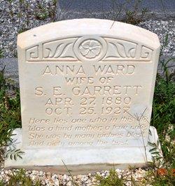 Anna <i>Ward</i> Garrett