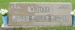 Nettie May <i>Wrigley</i> Whitney