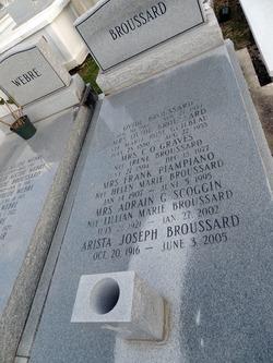 Arista Joseph Broussard, Sr