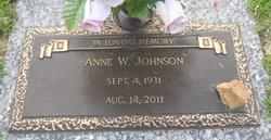 Anne <i>Watson</i> Johnson