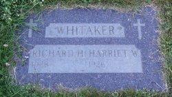 Harriet Elizabeth Whitaker