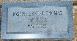 Joseph Ernest Thomas