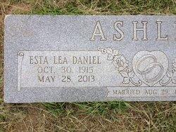 Esta Lea <i>Daniel</i> Ashley