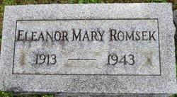 Eleanor Mary <i>Glaser</i> Romsek