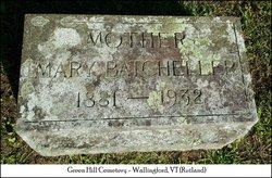 Mary Waldo <i>Batcheller</i> Marshall