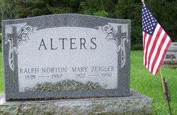 Mary <i>Zeigler</i> Alters