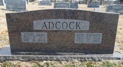 Ethel Mae <i>Banks</i> Adcock