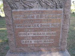 Anna <i>Stadler</i> Bahlman