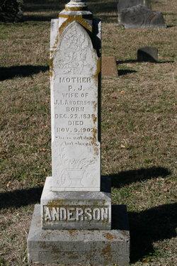 Paralee J <i>Chandler</i> Anderson